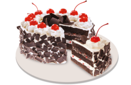 Black Forest Cake (red ribbon)