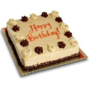 Mocha Dedication Cake